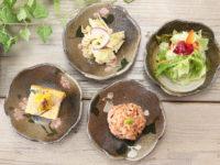 益子焼 たたら作りの変形小鉢【サイズ小】【単品1枚】