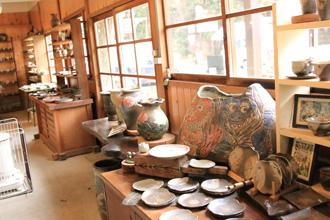 益子焼販売 陶芸教室ギャラー どんぐり