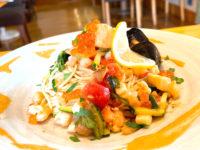 夏限定の魚介たっぷり冷製パスタ 森のレストラン 新メニュー