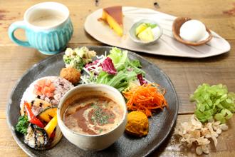 益子の茶屋 ランチメニュー カレー