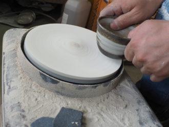 OLYMPUS DIGITAL CAMERA 高台削り 仕上げ 陶芸教室