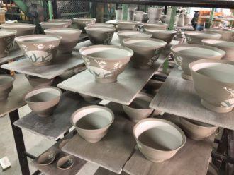 IMG_6391窯出し 益子焼 陶芸 陶芸教室よこやま 益子 乾燥