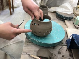 IMG_7698 穴あけ 茶高炉