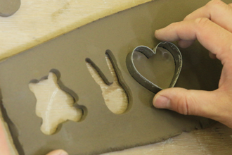 益子焼 陶芸体験 手びねり体験 オリジナル 箸置き