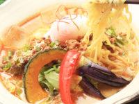 夏野菜の冷やし担々麺 かぼ茶庵 益子カフェ