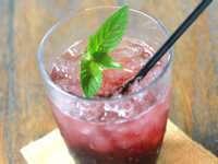 かぼ茶庵 季節のソーダ水1