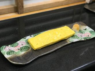 益子焼 作家 横山貴史 寿司割烹 喜多八 寿司皿 刺身皿 割烹器 喜多八 京風出汁巻玉子