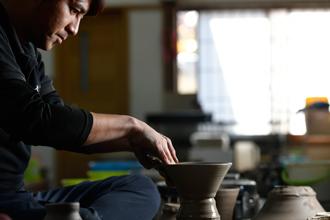 益子焼 作家 横山貴史 寿司割烹 喜多八 寿司皿 刺身皿 割烹器