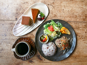 和風カフェレストラン 益子の茶屋(益子)