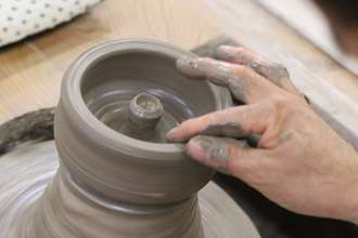 益子焼き 灰皿 オリジナル 陶芸体験