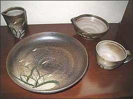 陶芸体験作品
