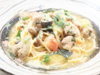 レモン風味のサルシッチャといろいろ野菜のブーロパルミジャーノ かぼ茶庵 益子カフェ