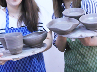 陶芸体験の流れ