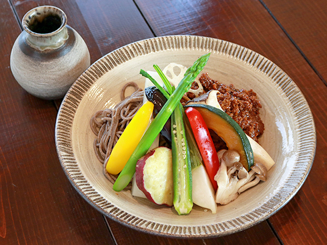 蕎麦とコーヒーと。忠兵衛 ピース(宇都宮)