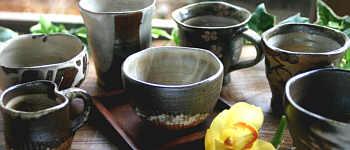 茶屋のドリンクバー