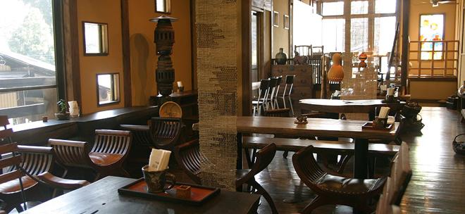 益子の茶屋 スペース