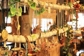 益子の茶屋 雑貨スペース