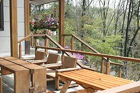 森のレストラン テラス席