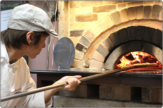 復興ピザ釜を作りました