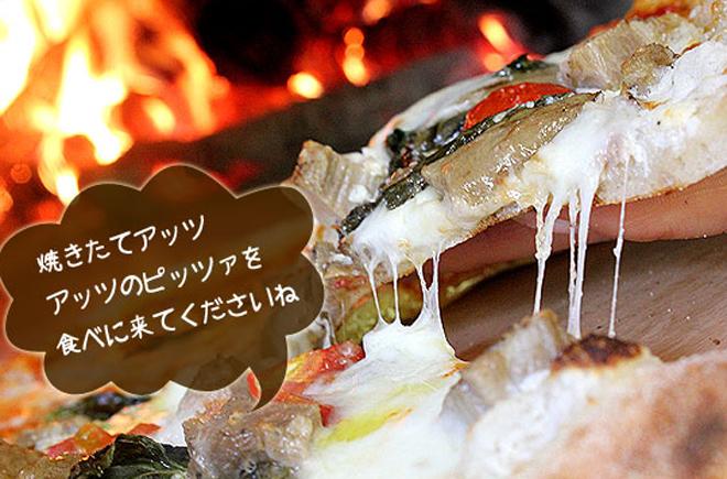 ピザ 釜焼きピッツア