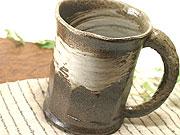 陶芸体験で作れる作品一覧の益子焼ビールジョッキ