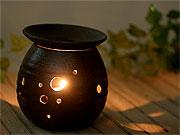 陶芸体験で作れる作品一覧の益子焼アロマポット・茶香炉
