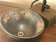 陶芸体験で作れる作品一覧の益子焼洗面ボウル・手洗いボウル